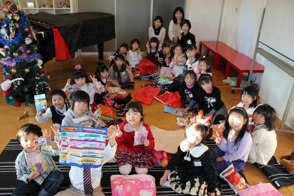 ピアノ教室クリスマス会